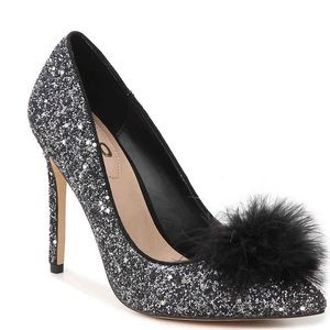 BNIB Party heels! glitter statement pump